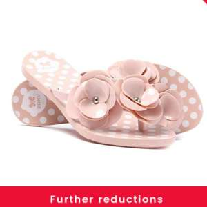 75% off Zaxy flip flops - all sizes @ Cloggs