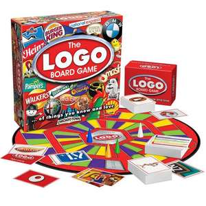 The Logo Board Game £3.30 @ Asda Instore