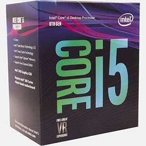 Intel 8th Gen I5 8400 Cpu Retail Boxed £159.99 delivered - Sold and Fulfilled by CPU-World-UK via Amazon