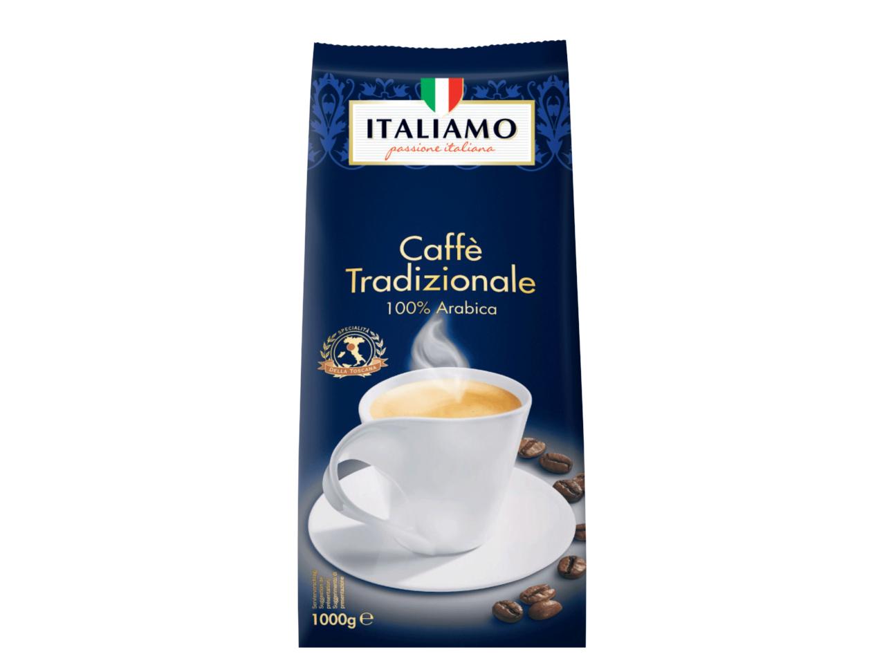Lidl Caffe Tradizionale 1kg 100% Arabica and Espresso Magnifico Caffe In Grani Arabica Robusta blend - £6.99 @ Lidl NI