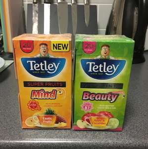 Reduced to 54p! Tetley Healthy Tea Bags - instore @ Asda (Dundee)
