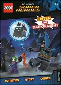 LEGO® DC Comics Super Heroes Batman: Enter the Dark Knight (Activity Book with Batman minifigure) £3.46 delivered @ bargainbooktime / Amazon