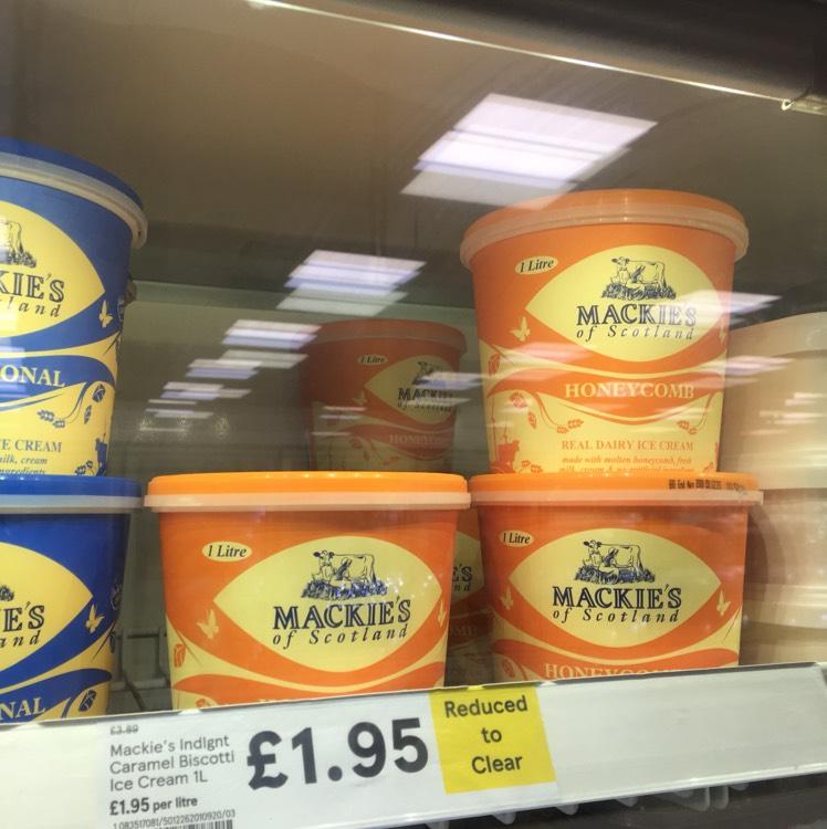 Mackie's Honeycomb Ice Cream - £1.95 instore @ Tesco (Milton Keynes)