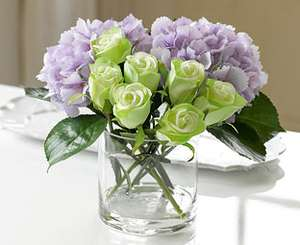 15% off All Artificial Rose Arrangements with Code @ Bloom