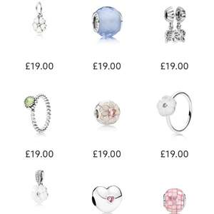 Great Pandora present for Mothers day - Items from £5 @ Swag Jewellers (Free del on orders over £25)