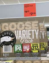 Goose Island Variety Pack (8x355ml bottles) - £7.99 @ Aldi, Tunstall Rd., Leeds