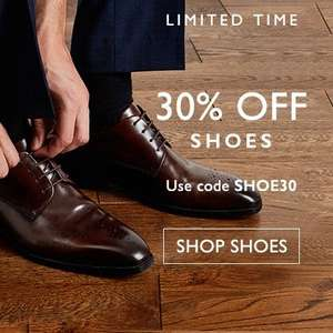 30% off on shoes @ Moss Bros