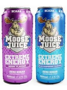 Muscle Moose Juice 500ml 89p instore @ B&M