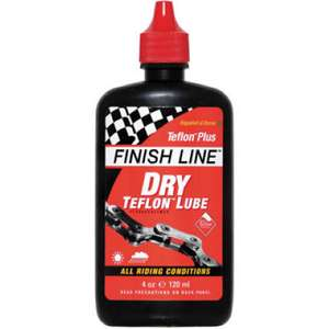 Finish Line Dry Teflon Lubricant 120ml Bottle £4.69 at Wiggle + £2.99 delivery