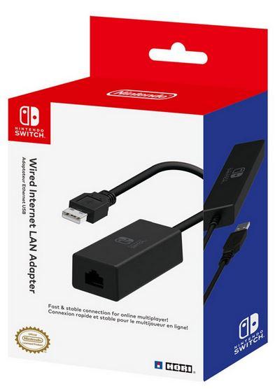 Hori Nintendo Switch LAN Adapter £14.99 Argos