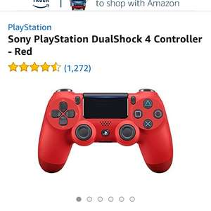 Amazon Warehouse PS4 Red Controller £35.58 - Used - Very Good