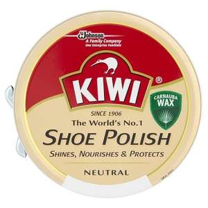 Kiwi Shoe Polish -  Neutral 50 ml (Pack of 12) £1 Amazon Add-on item or 95p S&S