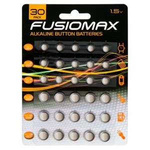 watch batteries - 30-pack button cell - £1 @ Poundworld