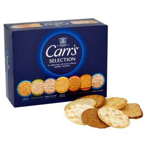 Carr's Crackers Selection 200g for £1 @ Morrisons