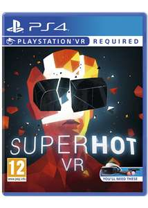 Superhot VR (PS4) pre-order £14.85 - Base.com