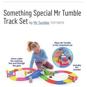 Mr Tumble Something Special Track Set £21.99 @ Argos