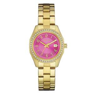 Caravelle New York 44M107 Ladies Watch now £19 + 3 year Warranty @ HS Johnson (Couple others below)