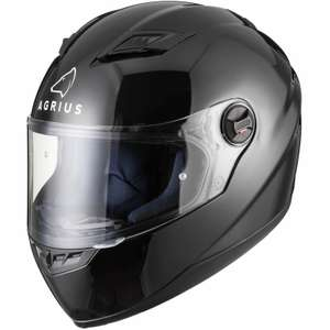 Agrius Rage Solid Motorcycle Helmet Full Face £20.99 delivered @ ghostbikes Ebay