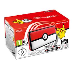 New Nintendo 2DS XL Pokéball Edition £129.99 @ GAME (Del)