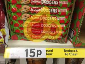 Tesco Jammie Dodgers (limited edition Toffee apple) 15p instore