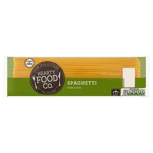 Hearty Food Co Spaghetti 500G 20p @ Tesco (instore & online)
