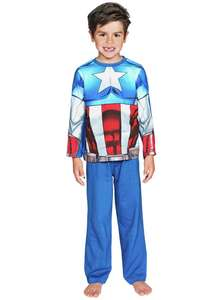 Captain America pyjamas age 2-3,3-4 years Was £7.99 now £3.49 @ argos
