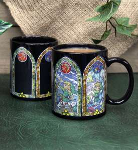 Zelda: Heat Changing Stained Glass Window Mug was £14.99 now £6.99 Delivered @ Merchoid