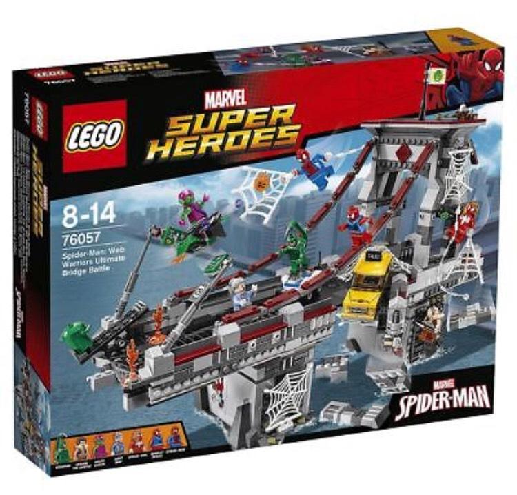LEGO Retired Spider-Man Bridge Battle Set RRP £100 - £55 @ Tesco / Ebay