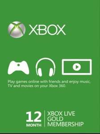 12 Months Xbox Live - £30.29 G2A.com