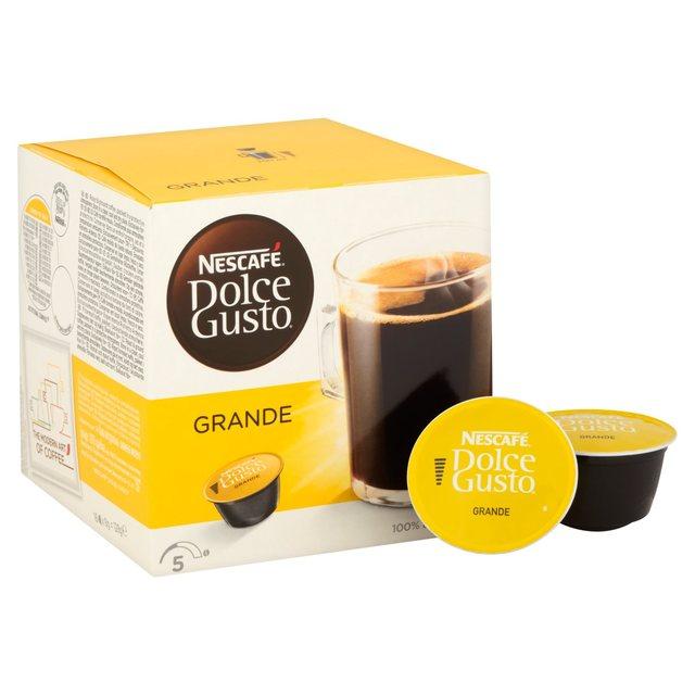 Nescafe Dolce Gusto Grande Pods scanning at £1.12 @ Asda instore