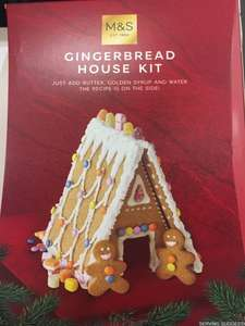 Gingerbread house Kit 10p @ M&S Leicester City centre