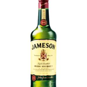 Jameson's Irish whiskey 70cl £17 @ Tesco