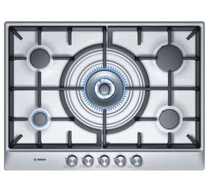 Bosch Serie 6 PCQ715B90E Built In Gas Hob - Brushed Steel £292 / £312 delivered @ bootskitchenappliances