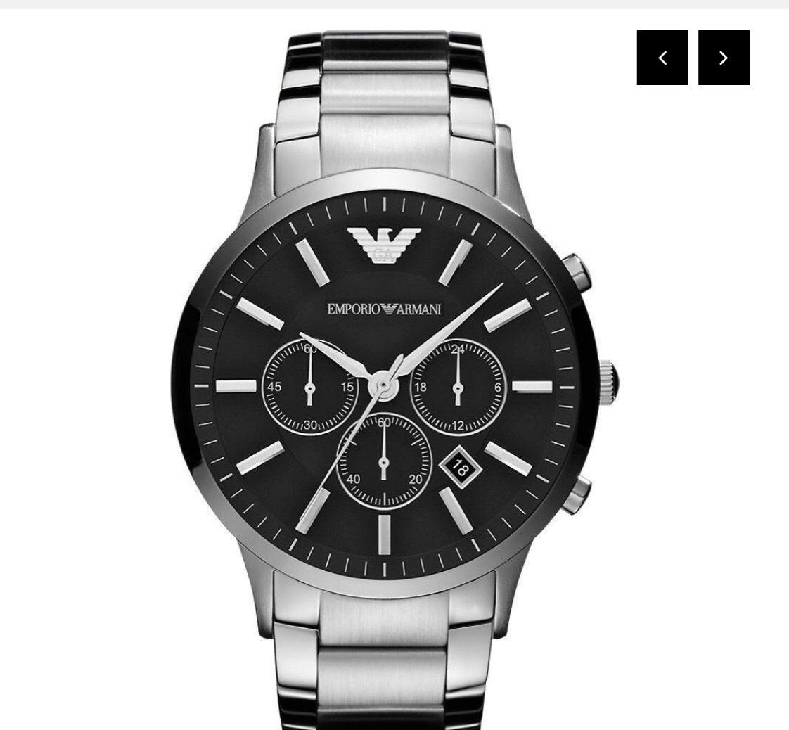 EMPORIO ARMANI Ar2460 Mens Bracelet Watch  £94.95 @  watchesk / Ebay