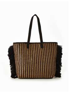 V by Very Large Sequin Fringe Beach Bag was £30 now £9 C+C @ Very