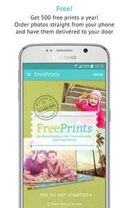 Free prints and free delivery!! freeprintsapp google play
