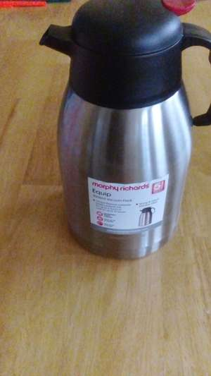 Morphy Richards 5l Flask - £1 instore @ B&M