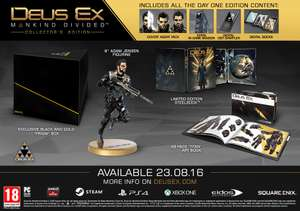 Xbox One Deus Ex Mankind Divided Collector's Edition - XBOX One - £24.99 @ GAME