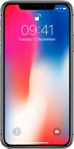 Apple iPhone X 64GB Refurbished (Good) from £779 Delivered (12 Months warranty) @ envirofone