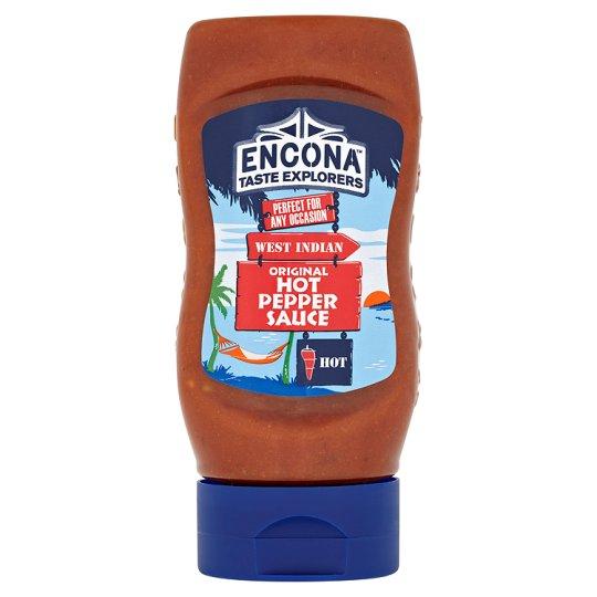 285ml Encona Original Hot Pepper & Thai Sweet Chilli Sauce upside down squeezy bottle half price £1 @ Tesco & Sainsburys