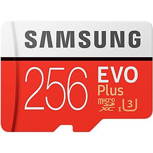 Samsung Evo+ 256GB Micro SDXC U3 Card + Adapter £85.49 Mymemory with code