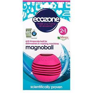 Ecozone Magnoball 136g x 6 (Pack of 6) £4.64 Prime / £8.63 Non Prime @ Amazon