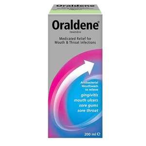 Oraldene has not been seen for a long time - £4.99 @ Superdrug (free C&C)