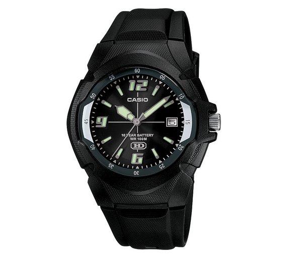 Casio Neo-Brite Black Strap Watch - £11.99 @ Argos