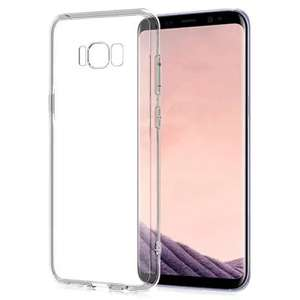 Transparent Clear Protective Case for Samsung Galaxy S8  -  TRANSPARENT - 46p @ Gearbest
