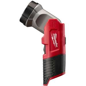 Milwaukee M12TLED 12v Torch Body-only £12.50 + £4.50 PP (free delivery on orders over £50) @ Milwaukee Power Tools