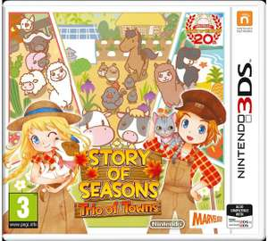 Story of Seasons 2: Trio of Towns - Nintendo 3DS £15.99 @ Argos (Free Click & Collect or £3.95 delivery... stock depending!)