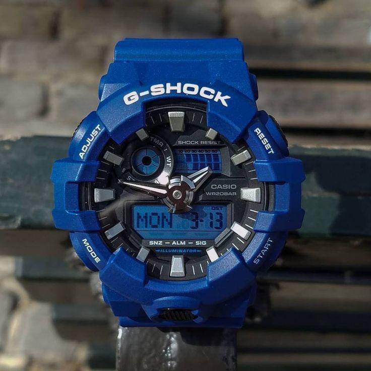 Casio G-Shock Men's Watch GA-700. Water resistant up to 200 m, Manu.Warranty 2 years - £59.98  @ Amazon