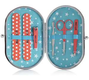 Stainless steel manicure set now £1.49 @ Argos