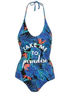 *Take me to paradise* swimsuit ,16,18 now £6 @ Asdageorge